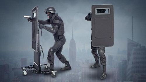 New Feature: ballistic shields