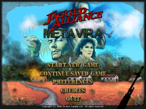 Jagged Alliance 2/1 Metavira